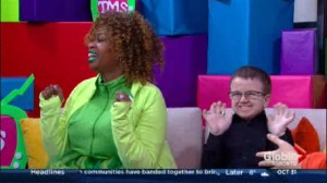 YouTube Stars Glozell and Keenan Cahill