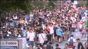 Sighting of rare Pokemon prompts stampede at a park in Taipei