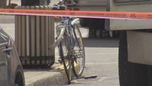 RAW: Cyclist killed by truck