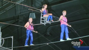 Property stolen from acrobats 'The Flying Wallendas' at circus in Calgary
