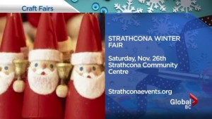 Metro Vancouver's holiday craft fairs