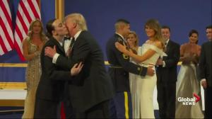 "Trump Inauguration: first couple dances to ""I Will Always Love You"""