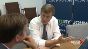 John Tory admits the need to 'tunnel' in order to complete SmartTrack plan