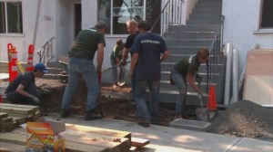 Extended video: Tour of a HeroWork renovation site