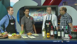 Sunday's cooking segment with Rostizado