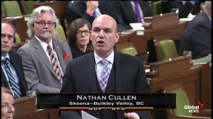 NDP MP Nathan Cullen says Feds using a 'ouija board' to create next budget