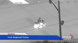 Motorcyclist charged after police helicopter pursuit in Markham