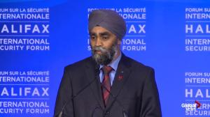 Harjit Sajjan stresses international cooperation in opening remarks at Halifax International Security Forum