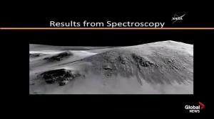 Spectroscopy exam reveals possibility of flowing salt water on Martian surface