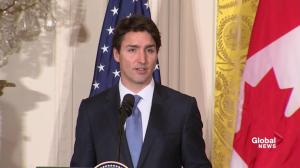 PM Trudeau calls meeting with Trump 'very productive'