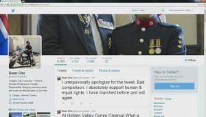 Calgary City Councillor Sean Chu faces backlash over tweet