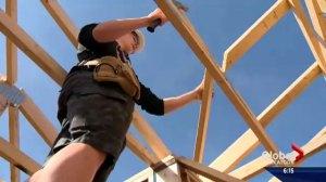 Saskatchewan students make homes and futures for Habitat for Humanity