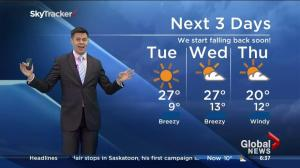 Saskatoon weather outlook – September 1
