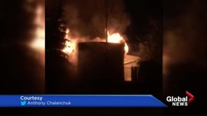 Calgary man recovering after mobile home exploded in flames