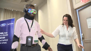 """Drugged Driving Suit"" gives people idea of effects of driving while impaired by drugs"