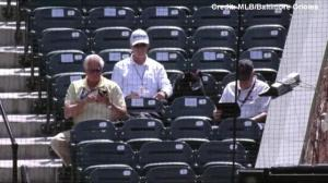 Orioles play 'closed to public' game in empty Baltimore stadium