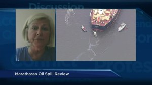 Marathassa oil spill report