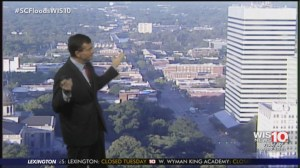 South Carolina meteorologist tears up when sun comes out