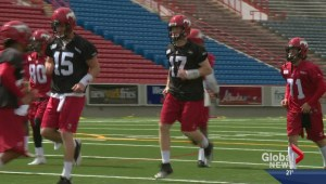 Calgary Dino's QB ready for CFL Combine