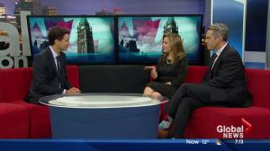 Justin Trudeau on the Global Edmonton Morning News