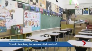 Should teaching be considered an essential service?