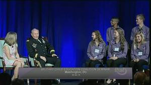 US Chairman of the Joint Chiefs sings Chumbawamba, 'Uptown Funk' at speaking appearance