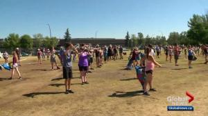 Leslie goes behind the scenes with the Calgary Stampede Show Band