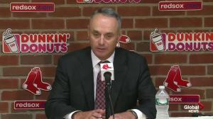 MLB commissioner Rob Manfred comments on 'Hackgate' scandal