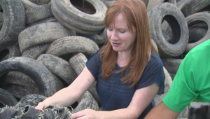 Manitobans toss out two million tires, but they can be recycled