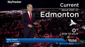 Edmonton early morning weather forecast: Tuesday, February 14, 2017
