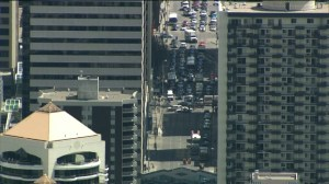 Global 1: Bricks falling in downtown Calgary