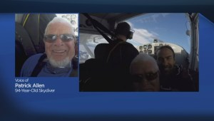 94-year-old B.C. man celebrates Father's Day with high flying adventure