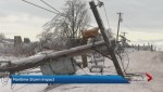 People without power 10 days after power ice storm in New Brunswick