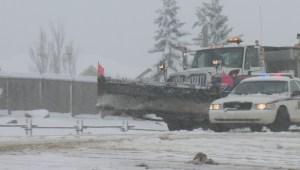 April blizzard catches commuters by surprise