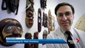 Montreal HIV/AIDS researcher Dr. Mark Wainberg dies