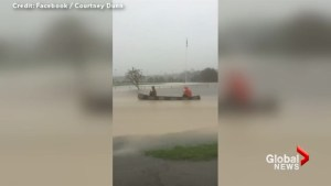 Amateur video captures the extent of the flooding in Cape Breton