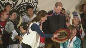 Royal children receive traditional gifts in Bella Bella