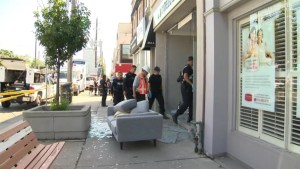 Man sent to hospital after explosion at Marijuana dispensary