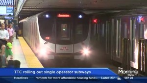 TTC rolling out single-operator train system