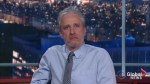 Jon Stewart tells the media it's 'time to get your groove back'