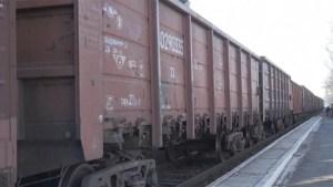 MH17 plane wreckage leaves eastern Ukraine on train
