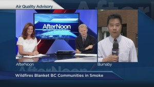 How severe is Metro Vancouver's  air quality advisory?