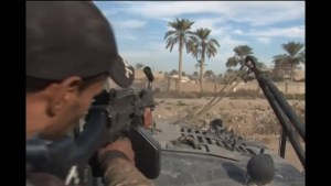 Iraqi troops battle ISIS group in Ramadi