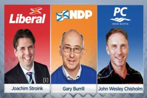 Halifax Chebucto candidates make election pitches