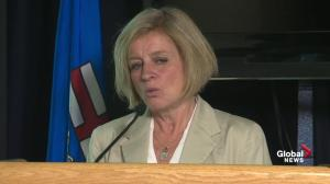 Request to federal government for help will change over time: Rachel Notley