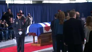 Mayor Tory pays respects to Rob Ford