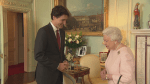 Prime Minister Justin Trudeau meets Queen Elizabeth II in London