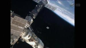 Raw video: Cosmonauts take part in six hour spacewalk outside ISS