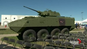 Memorial tribute to Canada's light armoured vehicle unveiled