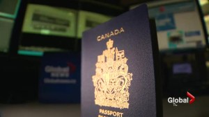 Air Canada passengers' passports problems